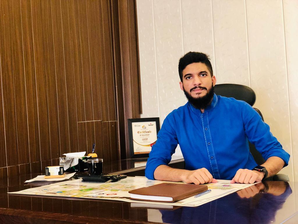 CEO Lucky Associates Ahmad Raza Qadri